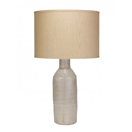 jamie young dimple carafe table lamp w/ classic drum shade