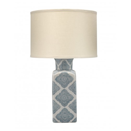 jamie young oran table lamp w/ drum shade