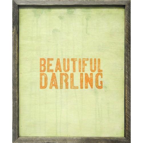 beautiful darling art print
