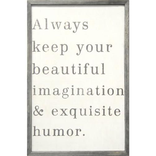 always keep your beautiful art print