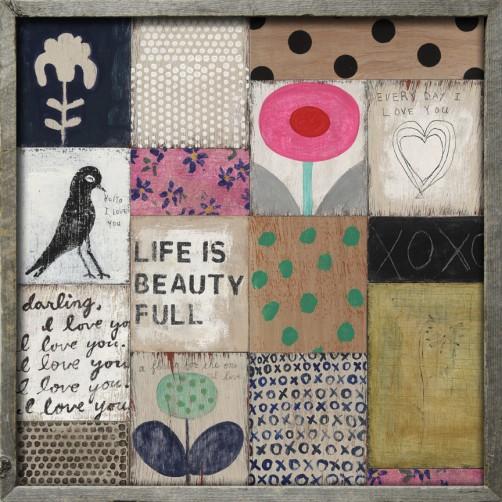 collage no. 1 art print