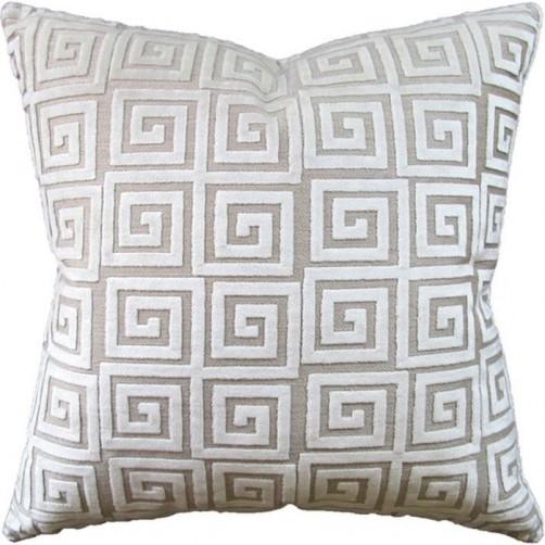 athenee velvet ivory pillow