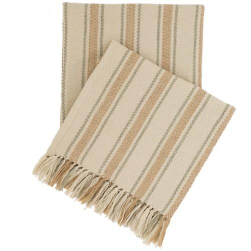 fresh american cambridge ocean indoor/outdoor throw blanket