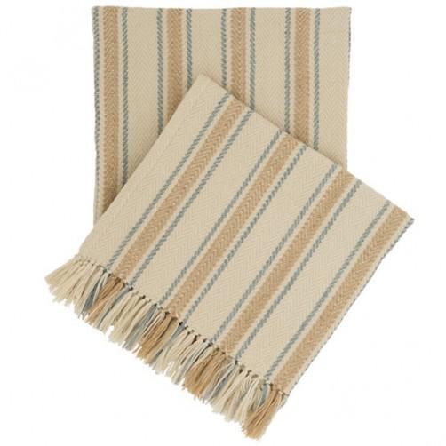 fresh american cambridge swedish blue indoor/outdoor throw blanket
