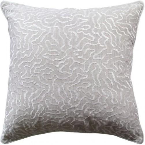 corallina greige pillow