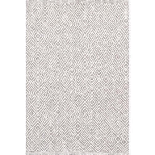 dash & albert annabelle grey indoor / outdoor rug
