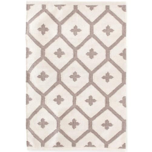 dash & albert elizabeth sand indoor / outdoor rug