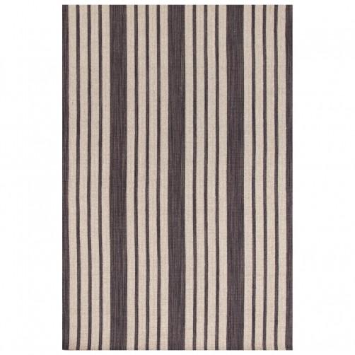 dash & albert lenox charcoal wool woven rug