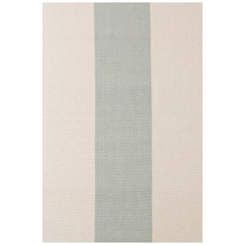 dash & albert yacht stripe ocean woven cotton rug
