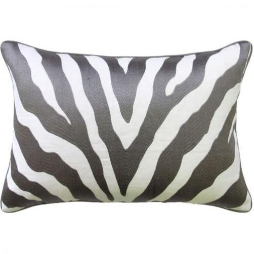 etosha grey bolster pillow
