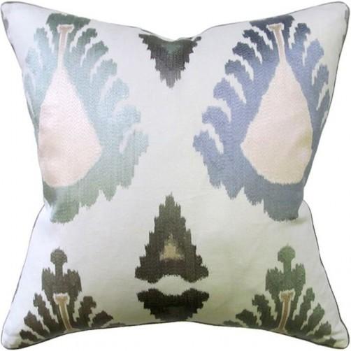 exuberance aqua pillow