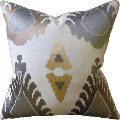 exuberance silver pillow