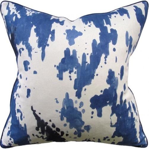 kiki blue pillow