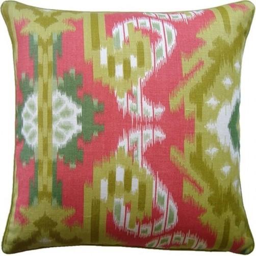 kiribati coral pillow