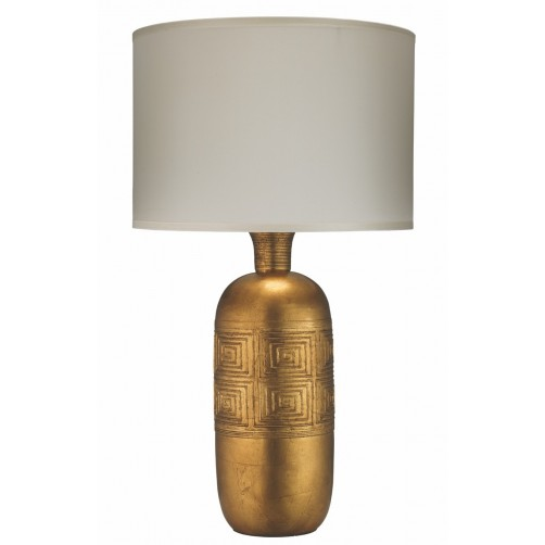 jamie young kronos table lamp w/ classic drum shade