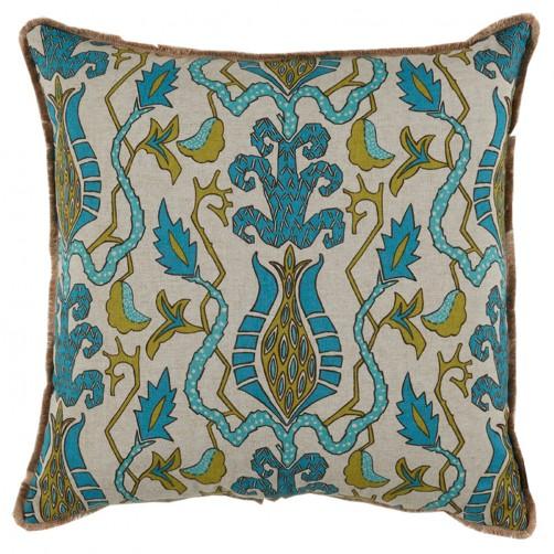 lacefield bora bora breeze pillow with eyelash trim
