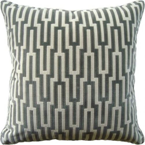 metropolitan velvet platinum pillow