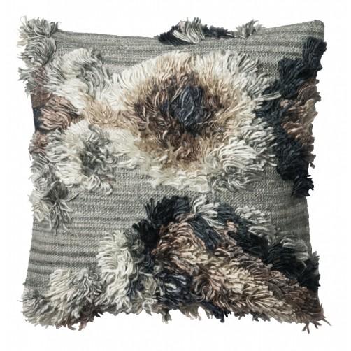 granite fringe pillow
