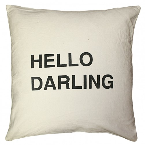 hello darling pillow
