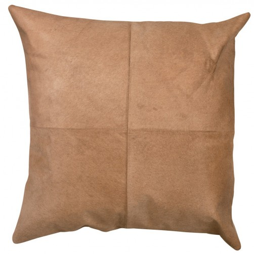 buff hide pillow