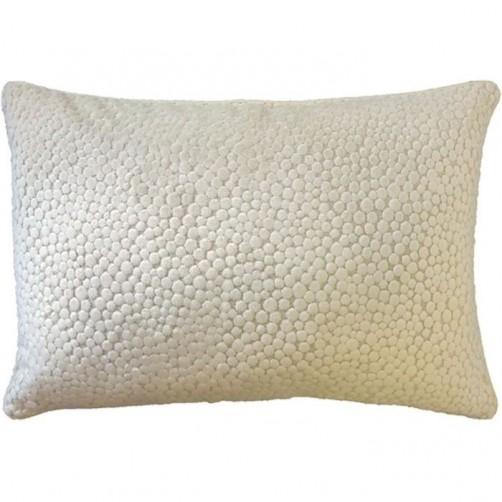 polka natural bolster pillow