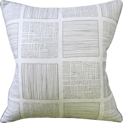 reino pewter pillow