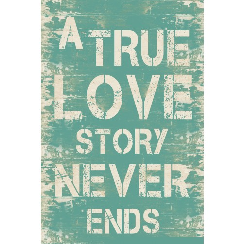 true love story sign