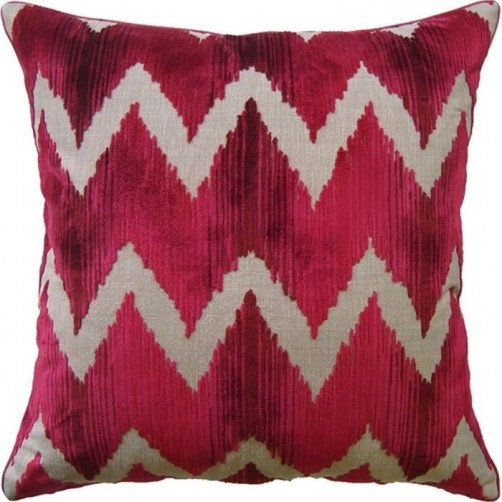 watersedge red pillow