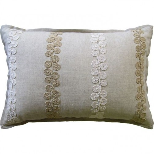 whitefield oatmeal bolster pillow