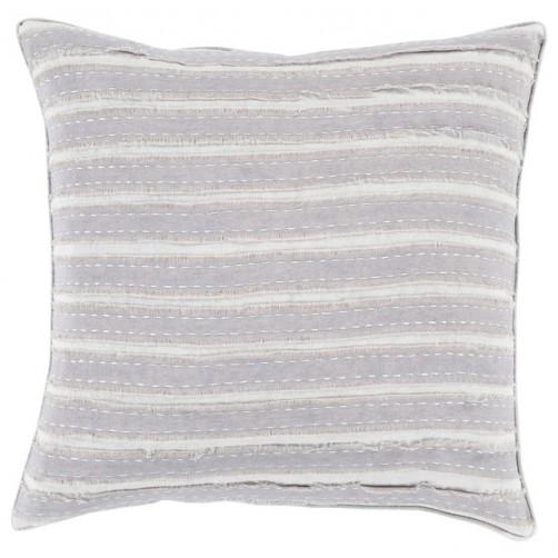 surya willow grey pillow