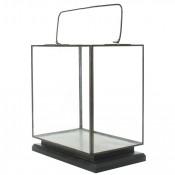 homart preston tin and glass vitrine large