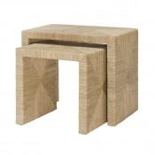 palecek woodside nesting tables