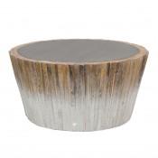 palecek harbor wood coffee table
