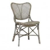 palecek jordan side chair, grey
