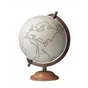 large canvas globe