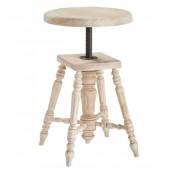 cottage adjustable height stool