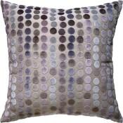 avery dots mauve pillow
