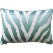 etosha aqua bolster pillow