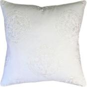 halie white pillow