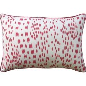 les touches pink bolster pillow