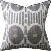mesa ikat grey pillow