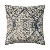 morocco blue & ivory pillow