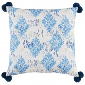 lacefield sedona pacific pillow with pom poms
