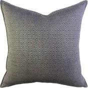 sophia diamond noir pillow