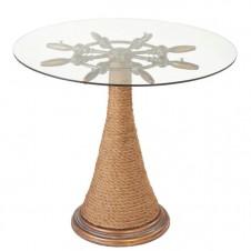 ship's wheel end table