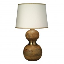 jamie young bandeau table lamp w/ large open cone shade