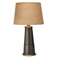 jamie young funnel table lamp w/ classic open cone shade