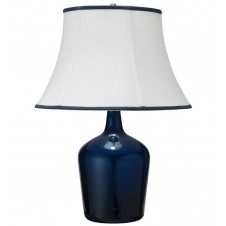 jamie young medium plum jar table lamp w/ large bell shade