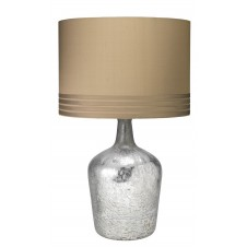 jamie young plum jar table lamp w/ banded drum shade