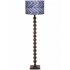 jamie young luna floor lamp w/ large drum shade